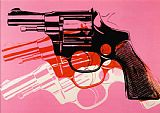 Gun c.1981 82 by Andy Warhol