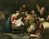 Bartolome Esteban Murillo The Adoration of the Shepherds Print