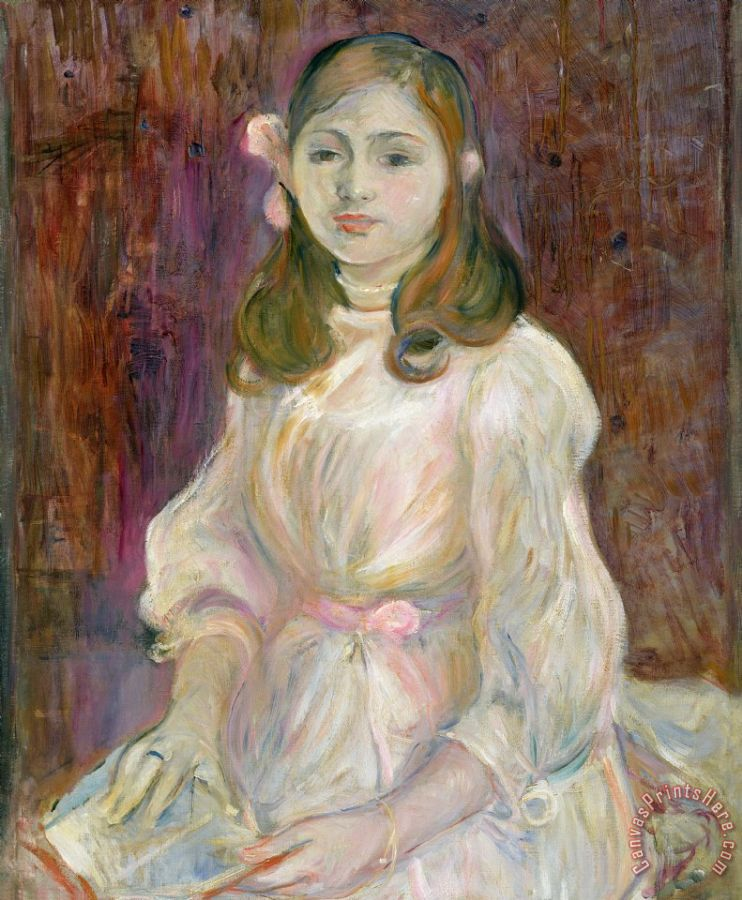 Berthe Morisot Portrait of Julie Manet Art Print