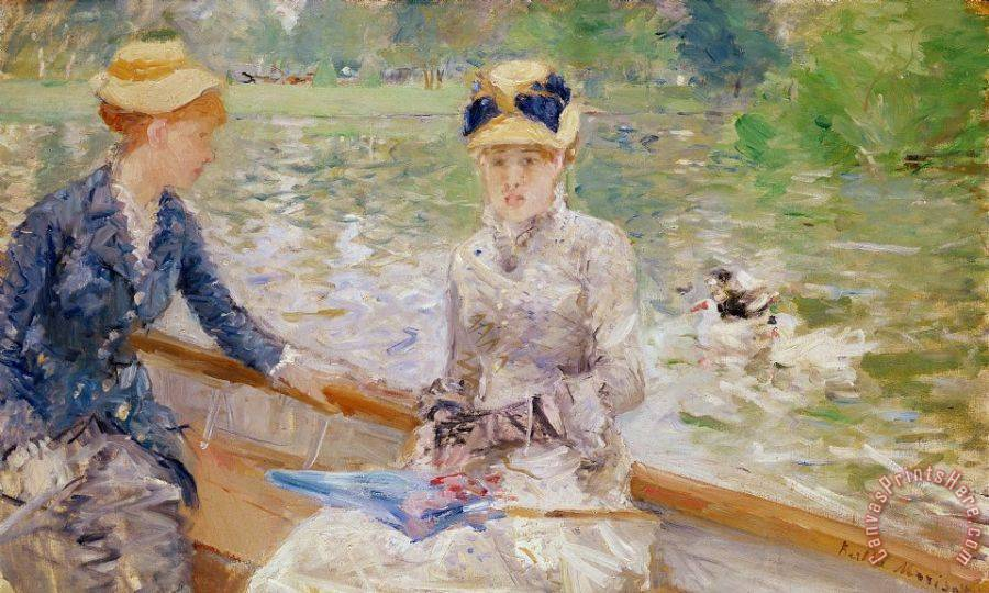 Berthe Morisot Summers Day Art Print