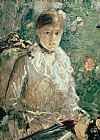 Berthe Morisot Portrait of a Young Lady Print
