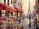 brent heighton April in Paris Print