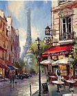 brent heighton Tour De Eiffel View Print