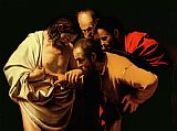 Caravaggio The Incredulity of Saint Thomas Print
