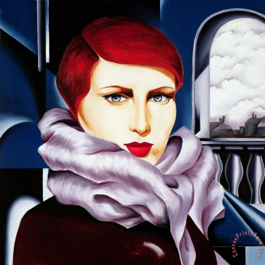Catherine Abel European Winter Art Print