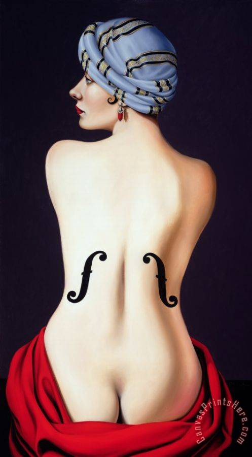 Catherine Abel Homage to Man Ray Art Print