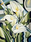 Catherine Abel Cubist lilies Print