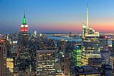 Clarence Holmes Top of the Rock Twilight I Print
