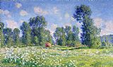 Claude Monet Effect of Spring at Giverny Print