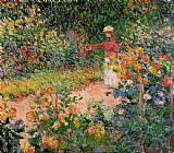 Claude Monet Garden at Giverny Print