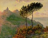 Claude Monet The Church at Varengeville against the Sunlight Print