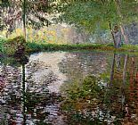 Claude Monet The Lake at Montgeron Print