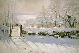 Claude Monet The Magpie Print