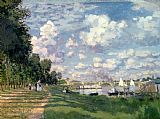 Claude Monet The Marina at Argenteuil Print