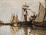 Claude Monet The Port of Honfleur Print