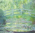 Claude Monet The Waterlily Pond with the Japanese Bridge Print