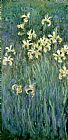 Claude Monet The Yellow Irises Print
