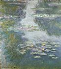 Claude Monet Waterlilies Print