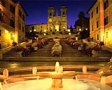 Collection Trinita Dei Monti Steps Rome Italy Print