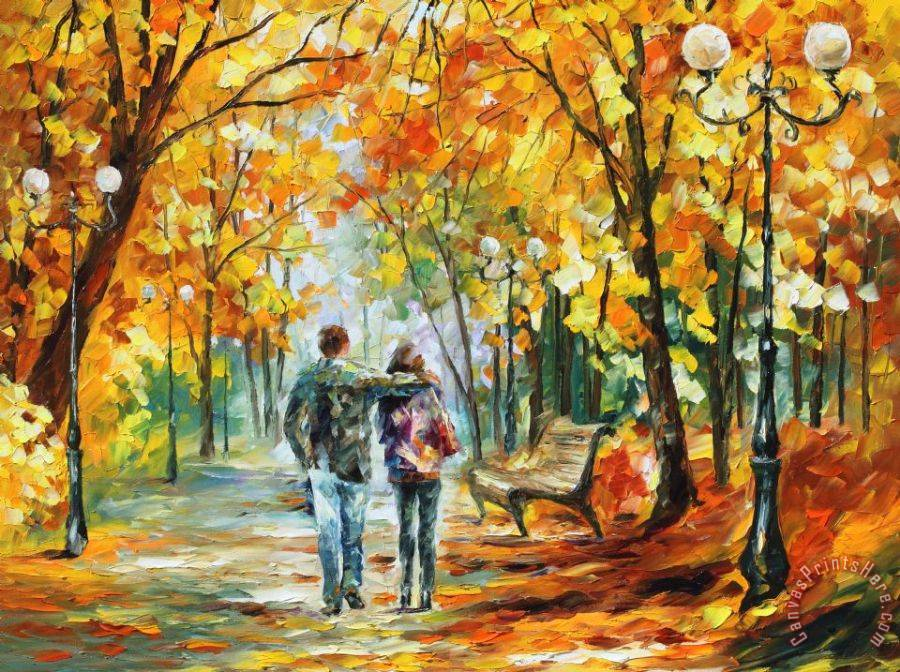 Leonid afremov going home art print for sale for Art print for sale