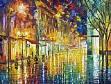 Leonid Afremov Scent Of Rain High Resolution Print