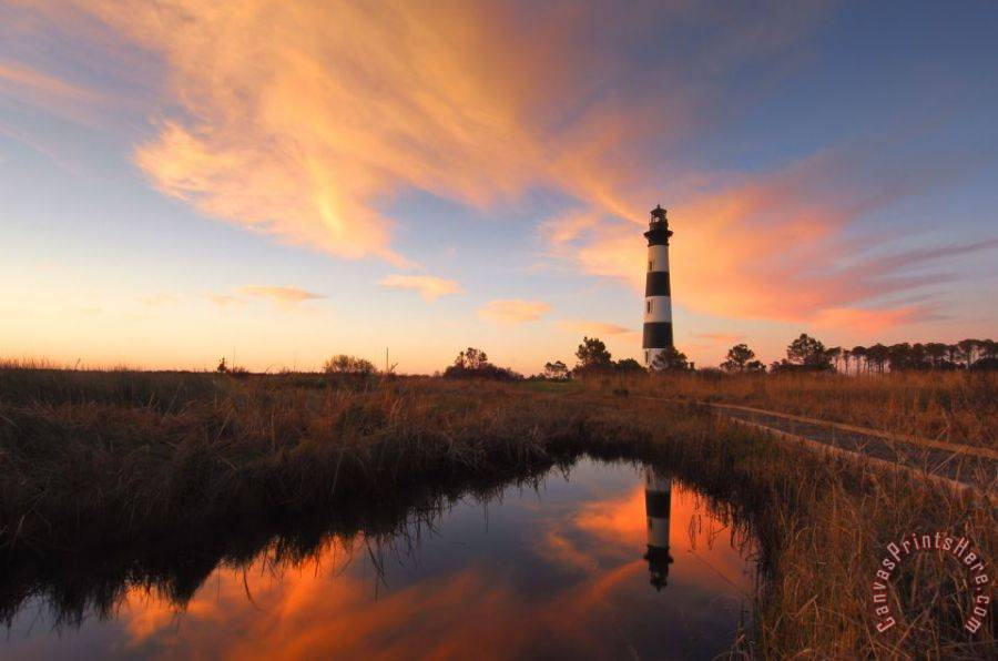 Collection 3 Bodie Island Lighthouse OBX Art Print
