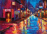 Debra Hurd New Orleans Magic Print