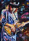 Debra Hurd Stevie Ray Vaughan Print