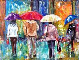 Debra Hurd Big Red Umbrella Print