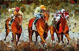 Debra Hurd Close Race Print