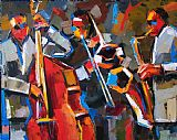 Jazz Angles by Debra Hurd