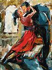 Debra Hurd Tango By The Window Print