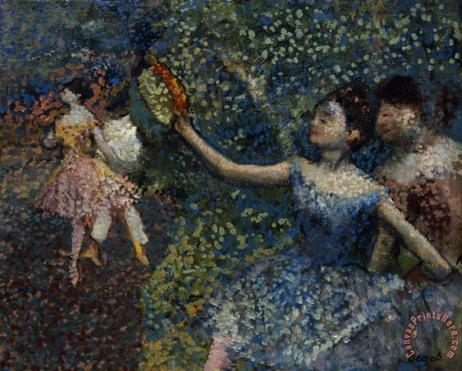 Edgar Degas Dancer with a Tambourine Art Print