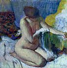 Edgar Degas After the Bath Print
