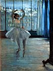 Edgar Degas Dancer in Front of a Window Print