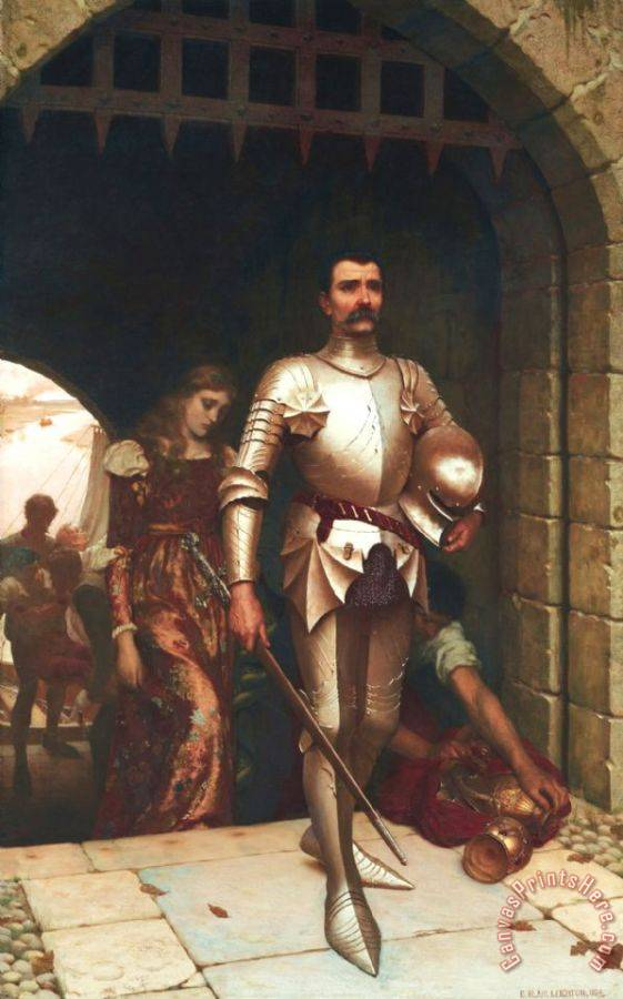 Edmund Blair Leighton Conquest Art Print