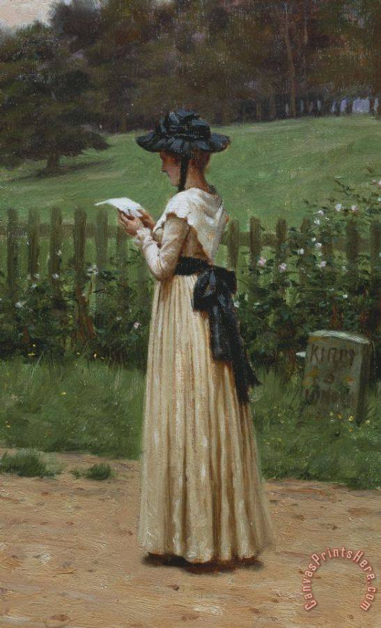Edmund Blair Leighton The Love Letter Art Print