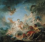 Francois Boucher The Forge of Vulcan Print