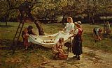 Frederick Morgan - The Apple Gatherers