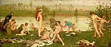 Frederick Walker The Bathers Print