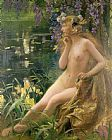 Gaston Bussiere Water Nymph Print