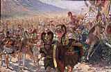 Georges Marie Rochegrosse Ancient Warriors Print