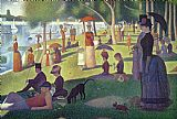 Georges Pierre Seurat Sunday Afternoon on the Island of La Grande Jatte Print