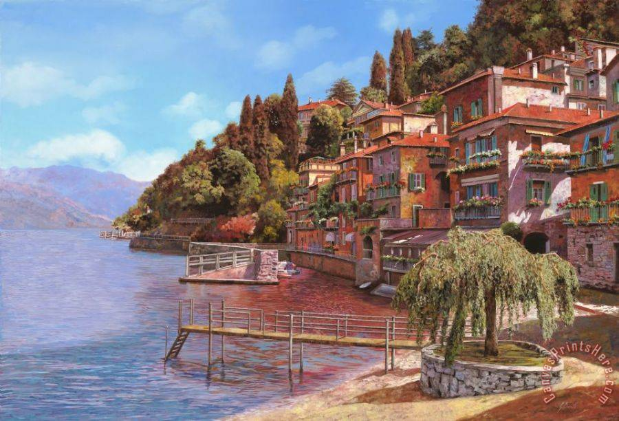 Collection 7 Varenna on Lake Como Art Print