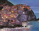 Manarola at dusk by Collection 7