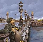Collection 7 Paris-pont Alexandre III Print