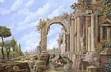 Collection 7 Roman ruins Print