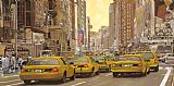 Collection 7 taxi a New York Print