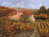 Collection 7 tra le vigne a Montalcino Print