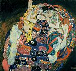 Gustav Klimt The Maiden Print